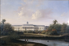 Rear View of Buitenzorg Palace before the Earthquake of 10 October 1834
