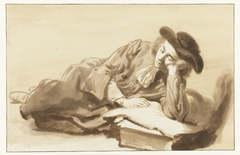 Reclining Youth