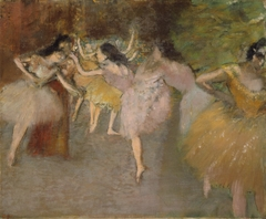 Rehearsal Before the Ballet