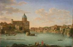 Rome, A View of San Giovanni dei Fiorentini