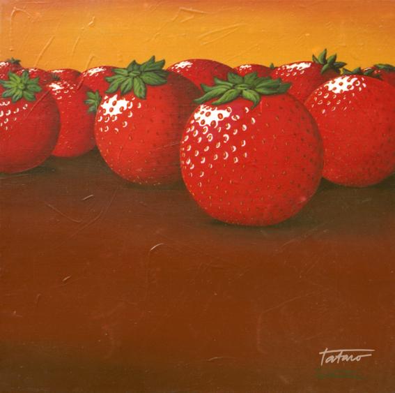 Round strawberries