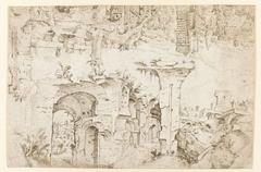 Ruïnes op de Palatijn in Rome