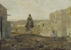 Ruiter in Caïro