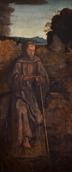 Saint Anthony - Cook Triptych