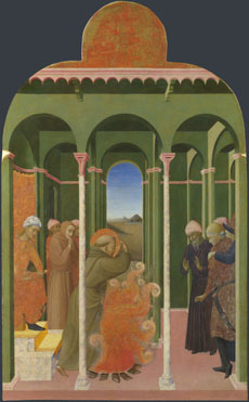 Saint Francis before the Sultan
