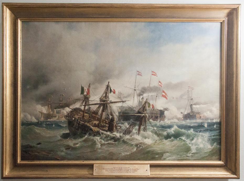 Sea battle at Lissa