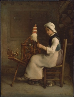 Seated Spinner (Emélie Millet)
