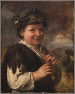 Shepherd Boy with a Recorder
