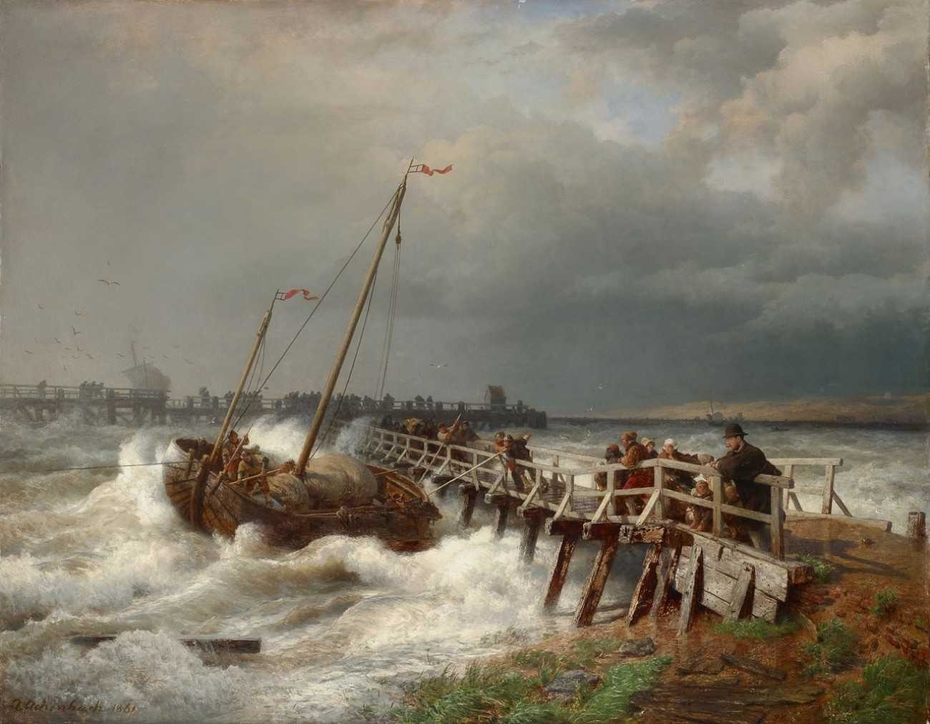 shipwreck at the old Jetty