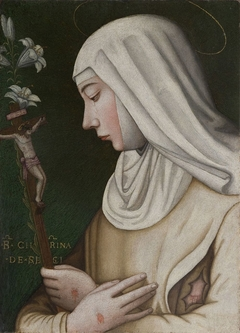 St Catherine with the Lily
