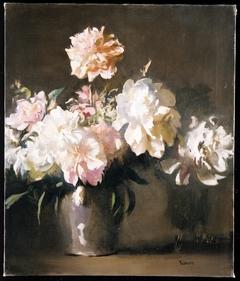 Still Life: Vase of Peonies