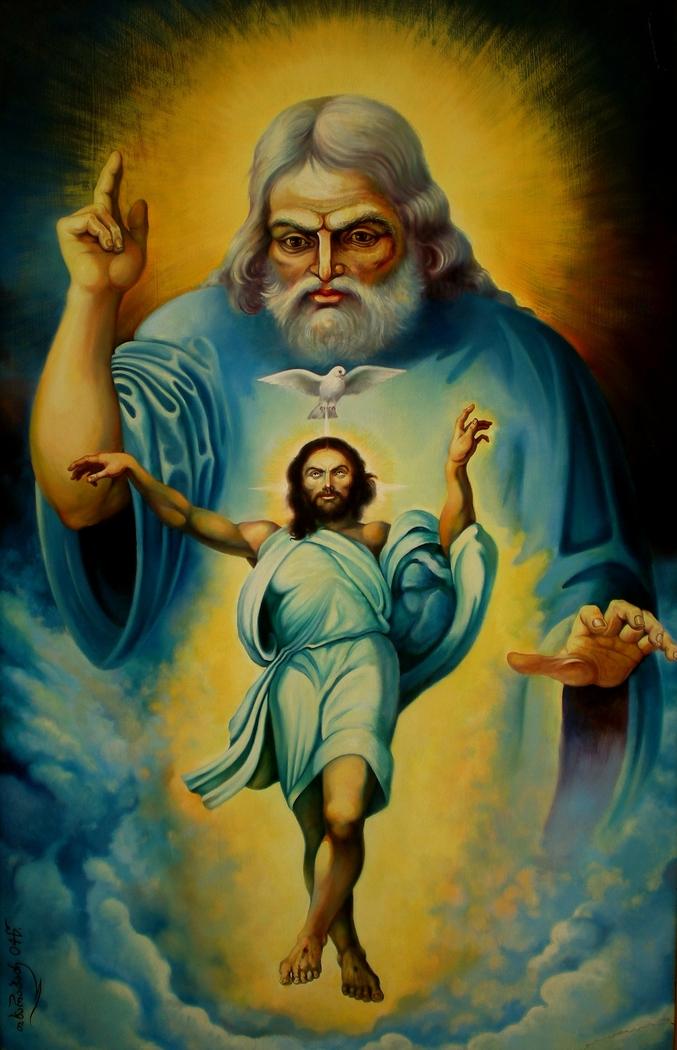 Father, the Holy Spirit, Jesus Christ