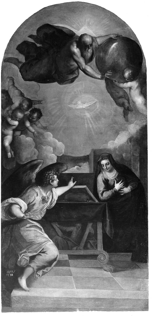 The Annunciation with God the Father
