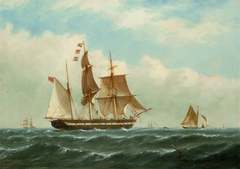 The barque Peerless
