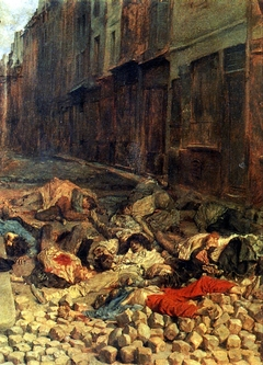The Barricade, rue de la Mortellerie, June 1848