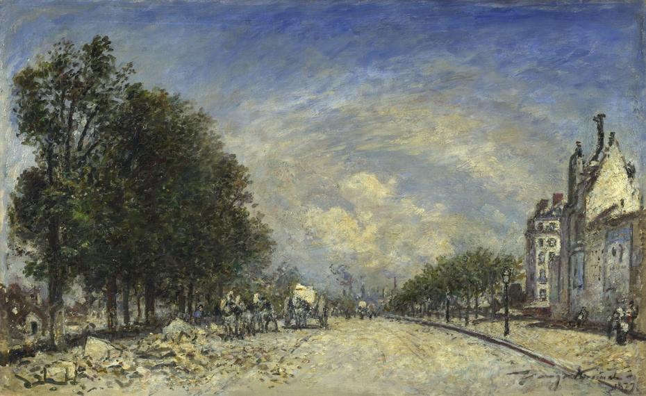 The Boulevard de Port-Royal, Paris