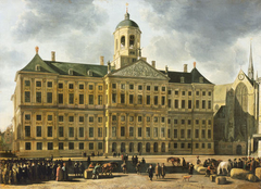 The City hall of Amsterdam