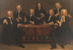 The directors of the surgeon's guild of Amsterdam, 1737