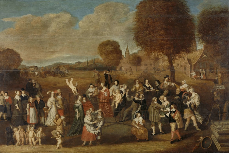 The marriage trap: an allegory of marriage