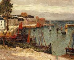 The Port of Sauzon, Belle-Isle-en-Mer