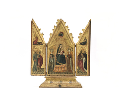 The Virgin and Child with Saints and the Annunciation