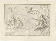 Theseus verlaat Ariadne op Naxos (?)