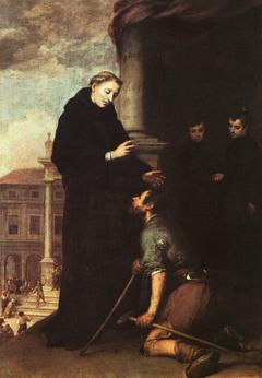 Thomas of Villanova heals the sick