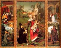 Triptych of the Virgin of Montserrat