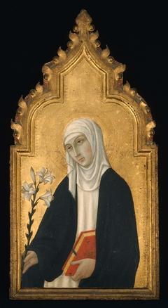 Triptych: Saint Catherine of Siena