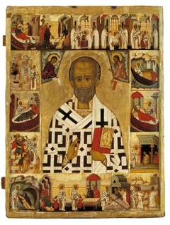 St. Nicholas with Scenes from His Life