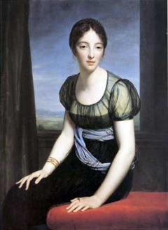Portrait of Laure Regnaud de Saint-Jean d'Angély