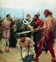 Saint Nicholas of Myra Saves Three Innocents from Death