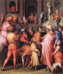 Joseph sold to Potiphar