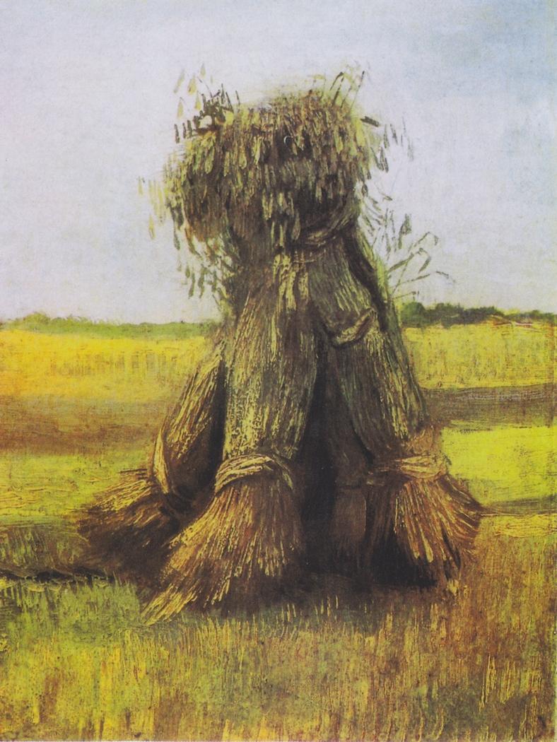 Wheat sheaves in a field