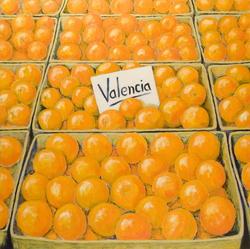 'Valencia', (2005),  oil on canvas, 130 x 130