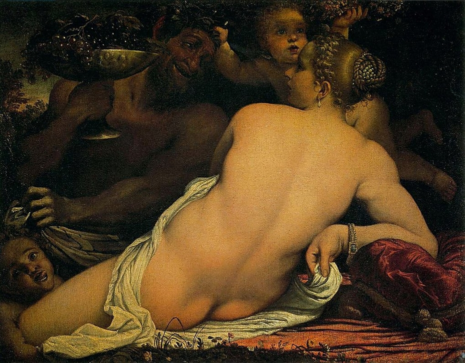 Venus with a Satyr and Cupids