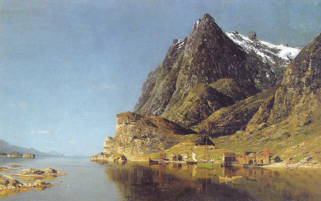 View of a Fjord