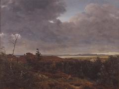 View of Frederiksværk from Tisvilde Wood, North Zealand