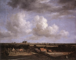View of Haarlem from the Northwest