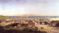 View of San Francisco in 1850