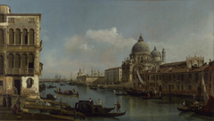 View of the Grand Canal: Santa Maria della Salute and the Dogana from Campo Santa Maria Zobenigo