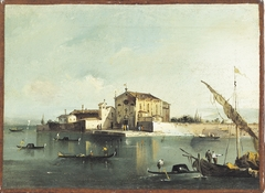 View of the island of San Cristoforo di Murano