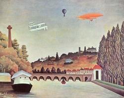 Vue du pont de Sèvres