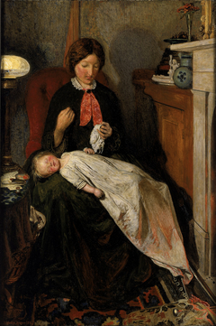 Waiting- an English fireside of 1854-55
