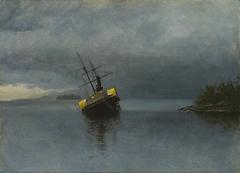 Wreck of the Ancon in Loring Bay, Alaska