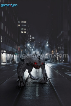 3D Monster character Modeling design poster by Post Production Animation Studio