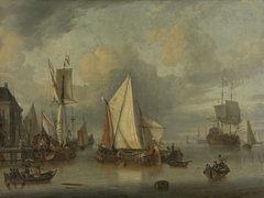 A Calm (Ships in the Harbor by Calm Weather)