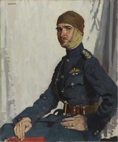 A Canadian Airman (Captain R. T. C. Hoidge, The Military Cross and Bar)