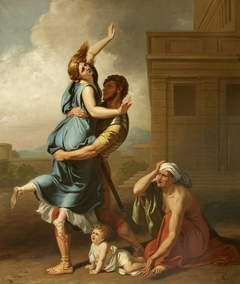 A Group from Rape of the Sabines (after Poussin)