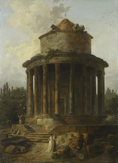 A Round Temple Once Dedicated to Venus